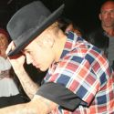 Justin Bieber Sneaks Out Of Nightclub After Partying With Selena Gomez, Meghan Trainor And Ed Sheeran