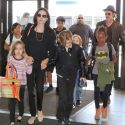 The Brangelina Brood Jets Off To Europe