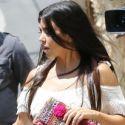 Kourtney Kardashian Shows Off Her 116-Pound Body For Lunch Date With Scott Disick