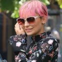 Nicole Richie Shows Off Her Skinny Stems As She Films Second Season Of <em>Candidly NIcole</em>