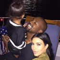 Kim And Kanye Gush Over North On Fourth Of July