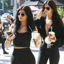 Kylie And Kendall Jenner Flaunt Their Figures In Skimpy Outfits After A Photo Shoot