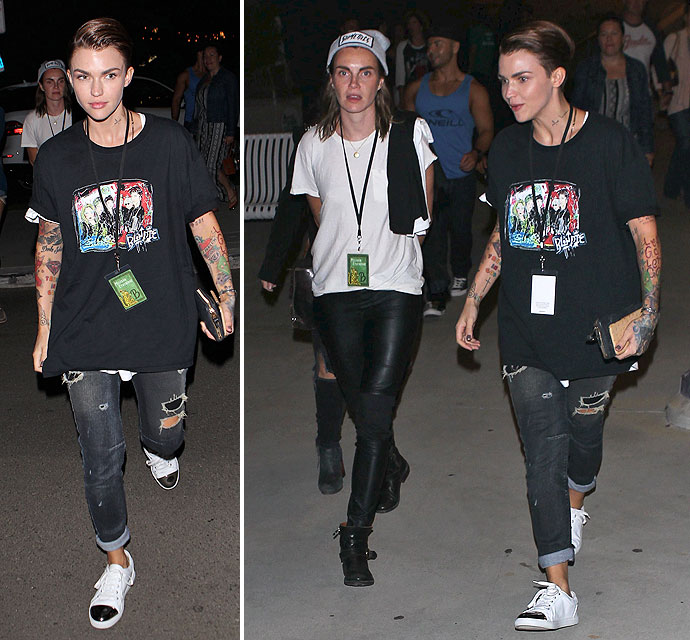 phoebe dahl orange is the new black. ruby rose and fiancee phoebe dahl are still going strong at melissa etheridge concert orange is the new black l
