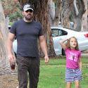 Ben Affleck Bonds With Daughter Seraphina In LA While Jennifer Garner Shoots In Atlanta