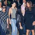 Kris And Cait Reunite At Kylie's 18th Birthday Celebration