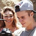 Justin Bieber Plays Photographer At Chantel Jeffries' Photo Shoot
