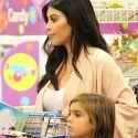 Pregnant Kim Kardashian Makes Mason's Day When She Takes Him Toy Shopping
