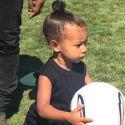 Kim Kardashian Shares Sweet Snapshots Of Nori From The Soccer Field