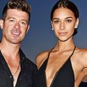 Robin Thicke Denies He's Engaged To His 20-Year-Old Girlfriend, April Love Geary