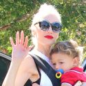 Gwen Stefani Rounds Up Her Boys And Takes Them To Church