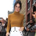 Kendall Jenner Spends Time With Rumored Boyfriend Lewis Hamilton In NYC