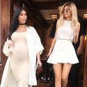 Kim Kardashian And Little Sis Kylie Jenner Have A Lady Date In NYC