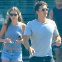 "<em><span class=""exclusive"">EXCLUSIVE PHOTOS</span></em> - Orlando Bloom Hangs With Scott Disick's Former Fling Chloe Bartoli"