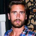 Scott Disick Looks Completely Wasted And Leaves The Club With Two Chicks