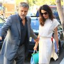 George And Amal Clooney Get All Glammed Up For A Lunch Date