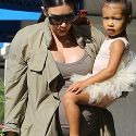 Kim Kardashian And Kanye West Take Their Little Ballerina To Dance Class