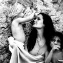 Brad Pitt Shares Intimate Photos Of Angelina Jolie And The Kids Ahead Of <em>By The Sea</em>
