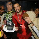 Justin Bieber Helps French Montana Celebrate His Birthday