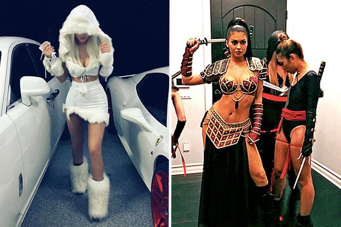 kylie-jenner-snow-princess-zena-halloween-costume | Kylie ...