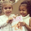 Khloe Kardashian Gets A Little Help From Nieces North And Penelope With Her Book Promotion