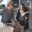 Congrats, Eva Longoria! Newly-Engaged Actress Returns From India With Fiance Jose Baston