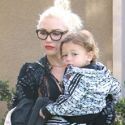 Gwen Stefani Holds Her Boys Close At Church
