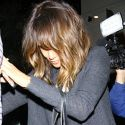 Halle Berry Wears Leopard-Print Bra To A Lunch Meeting