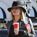 Khloe Kardashian Grabs Coffee And Visits With Lamar Odom After Admitting She Struggles With Anxiety