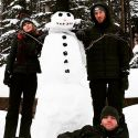 Taylor Swift And Calvin Harris Spend First Christmas Together Building A Snowman