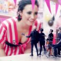 "Demi Lovato Teams Up With Fall Out Boy To Mock 'NSync In ""Irresistible"" New Video"
