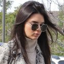 Kendall Jenner Is Sexy In Snakeskin At The Gas Station