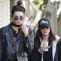 Kendall Jenner Is Twinning With Her Girlfriend During Daily Caffeine Run