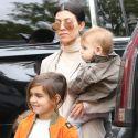 Kourtney Kardashian's Brood Is The Best Dressed In Town
