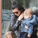 Kourtney Kardashian And The Kids Do Lunch With Grandma Kris Jenner