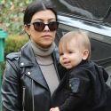 Kourtney Kardashian Gets Back To Parenting After Filming A Pointless KitKat Eating Tutorial