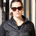 Jennifer Garner Looks Seriously Sexy In Liquid Leggings That Show Off Her Thin Pins
