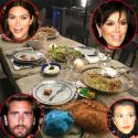 The Kardashians Gather For An Authentic Armenian Dinner To Celebrate Their Late Father Robert's Birthday