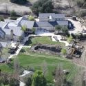 "<em><span class=""exclusive"">EXCLUSIVE</span></em> - Kim And Kanye Rip Out Pool And Vineyard In Calabasas Mansion Remodel"