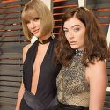 BFFs Taylor Swift And Lorde Go Squad-Hard At <em>Vanity Fair</em> Oscar Bash