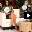 "Rihanna And George Clooney Play A Sexy Game Of ""Never Have I Ever"" With Ellen DeGeneres"