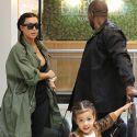 Kim And Kanye Take Their Precious Princess North To Build-A-Bear
