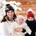William And Kate Take Prince George And Princess Charlotte On Their First Ski Vacation