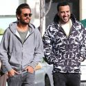 Scott Disick And French Montana Buddy Up For An Afternoon Of Bromance