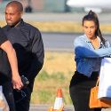 Kim Kardashian And Kanye West Return Home With Daughter Nori After A Wild Weekend Wedding