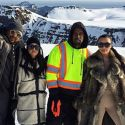Kim Kardashian And Kanye West Help Kourtney Celebrate Her 37th Birthday In Iceland