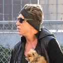 Who Wears Short Shorts? Mickey Rourke Wears Short Shorts
