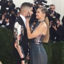 Gigi And Bella Hadid Get Lovey Dovey With Their Boyfriends On The Red Carpet At The Met Gala