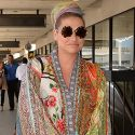 "<em><span class=""exclusive"">EXCLUSIVE PHOTOS</span></em> - Kesha Is Krazy For Her Kaftan"