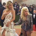 Lady Gaga Gets Cheeky With Kate Hudson At The Met Gala
