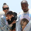 Kim Kardashian Takes Nori To A Birthday Party After Celebritot Throws A Mini Tantrum At Sushi